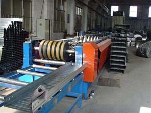 Cable Tray Forming Machine Running plant