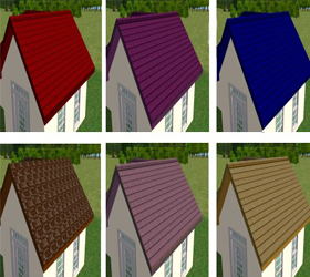 Roof Roll Bending Colored Steels